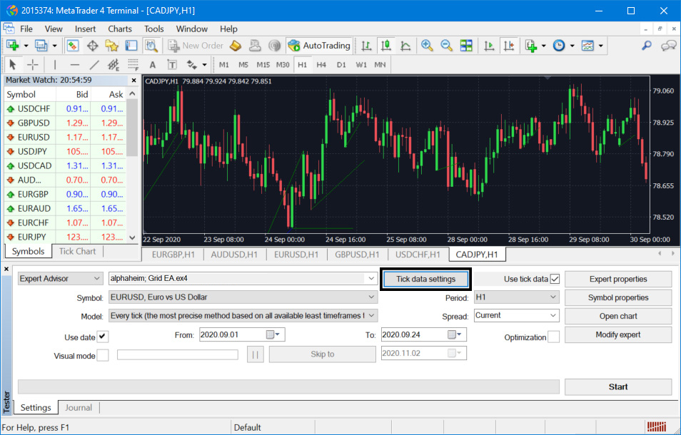 How to Import Tick Data on MetaTrader 4 MT4 Tutorial for Backtesting and Optimizations High Accuracy